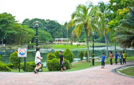 Permaisuri Lake Gardens