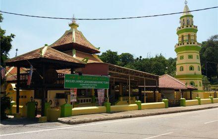 Masjid Jamek Laksamana Hang Tuah, Kampung Duyong
