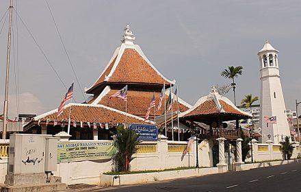 Masjid Kampung Hulu, Bandaraya Melaka